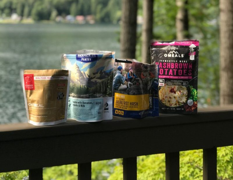 best backcountry camping meals