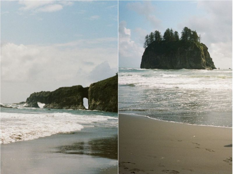 the best beach in olympic national park, camp on the beach