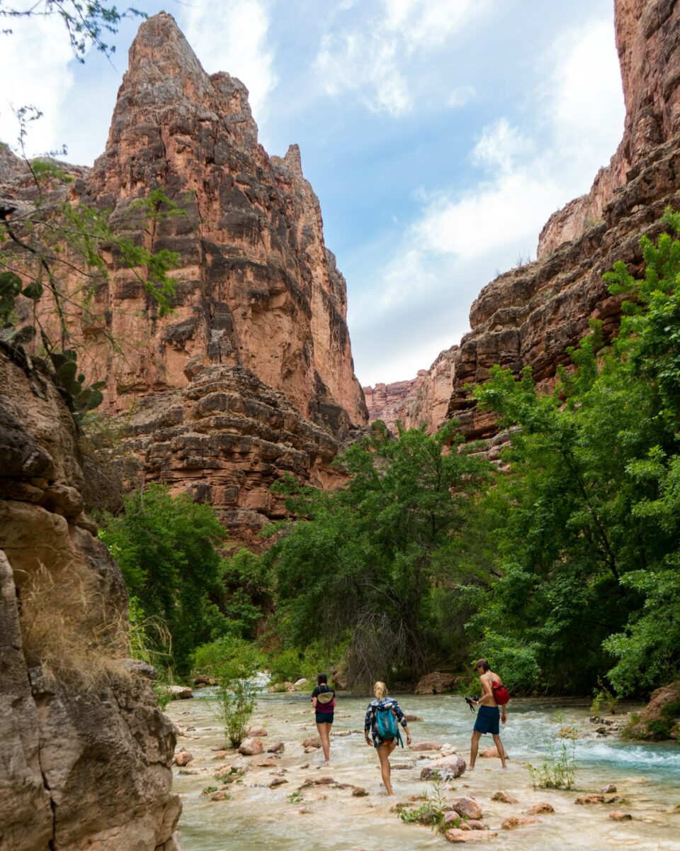 Backpacking Along the Colorado River