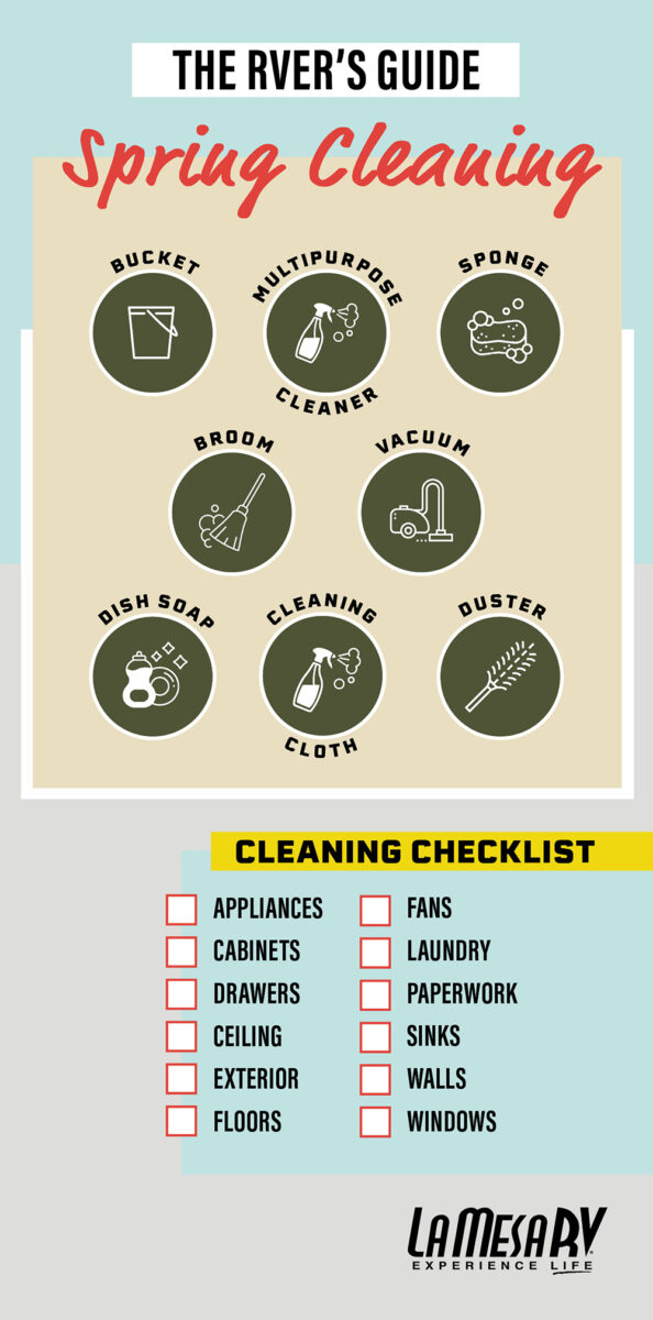 how to clean your rv